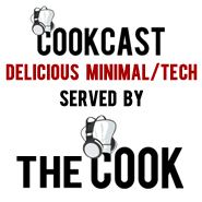 CookCast - delicious Minimal/Tech served by The Cook